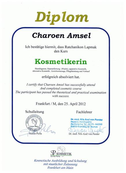 Kosmetik Diplom