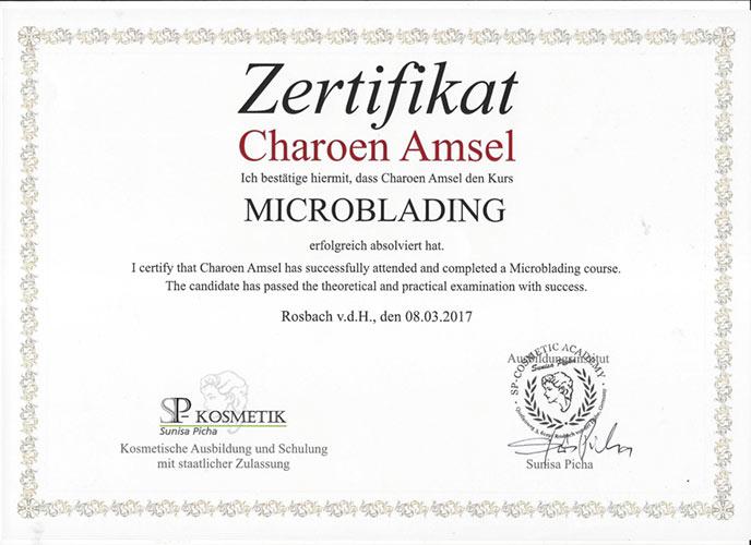 Microblanding